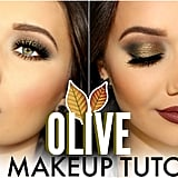 Olive Smoky-Eye Fall Makeup Tutorial