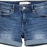 H&M Denim Shorts - Dark denim blue - Ladies ($30)