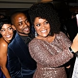Pictured: Yvette Nicole Brown, Dule Hill, and Jazmyn Simon