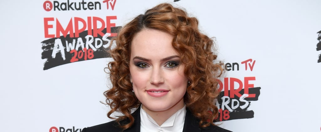 Daisy Ridley Joined the '80s Perm Revival — and Damn, It Looks Good on Her