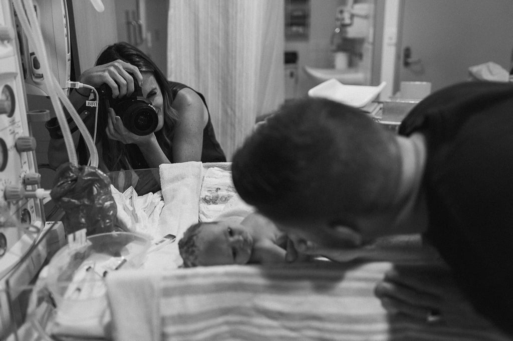 "Stunning Photos of Parents Saying a First ""Hello"" to Their Newborns"