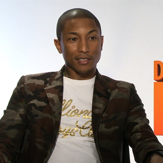 Pharrell Williams Despicable Me 2 Interview (Video)