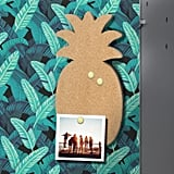 Magnetic Pineapple Locker Bulletin Board with Pins