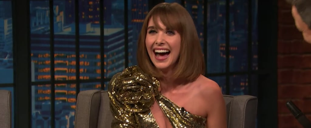 Alison Brie Talks About Dave Franco on Seth Meyers Video