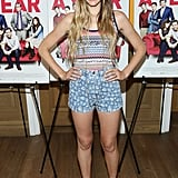 Jennifer Missoni looked stylish and laid-back in printed shorts at the I Give It a Year screening.