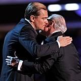 Leonardo DiCaprio presented at the 2012 Critics' Choice Movie Awards.