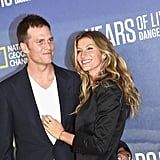 Gisele Bundchen and Tom Brady at National Geographic Event