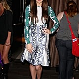 Hailee Steinfeld attended a VIP celebration on Thursday night.