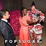 Rihanna and Lupita Snap Selfies at the Met Gala After Their Imaginary Movie Goes Viral