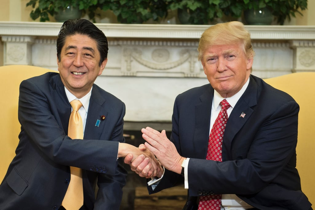 President Trump, a 70-Year-Old Man, Still Hasn't Figured Out How to Shake Someone's Hand