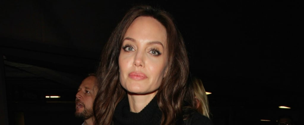 Angelina Jolie's Outfit May Be Simple, but Her Suede Boots Deserve Your Attention