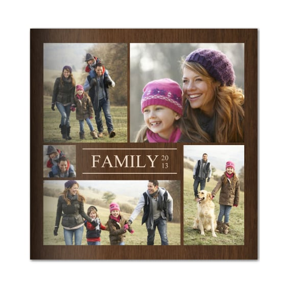For those of us who aren't DIY scrapbookers, may we suggest a Mixbook (starting at $20)? Simply upload photos and choose a theme. It's a great way to document the memories from the past year.