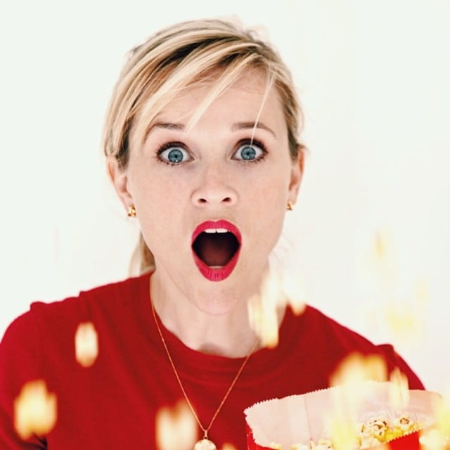 Stunning And Surprising New Looks: Reese Witherspoon Revealed Her Shocked Face After Watching
