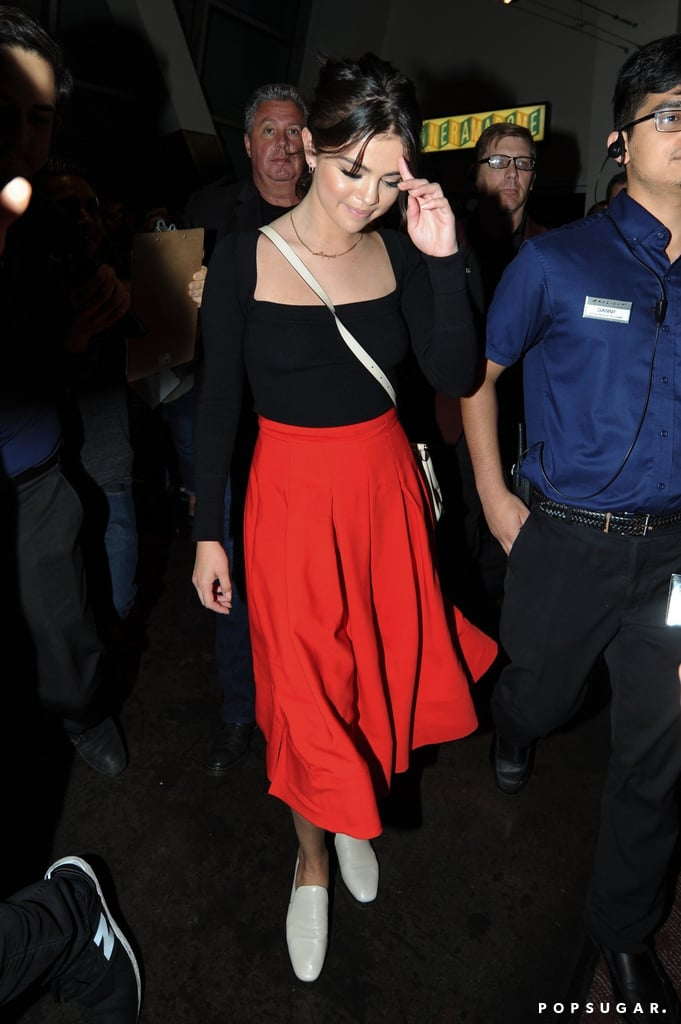 afc22ae7b0f Selena Gomez Wearing We the People Necklace