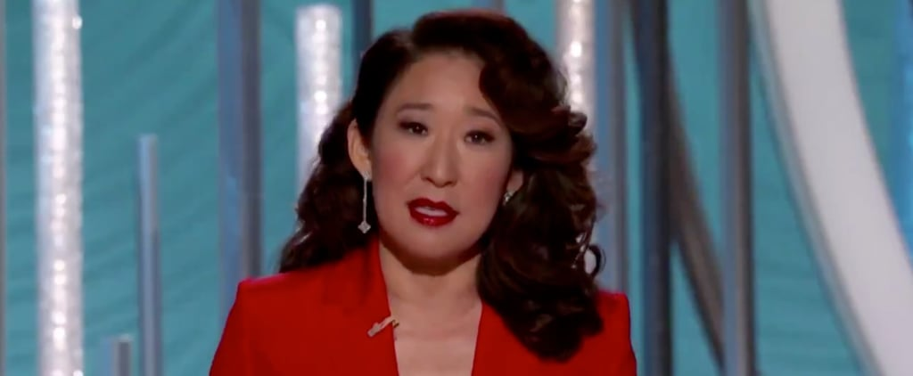 Sandra Oh Monologue at 2019 Golden Globes Video