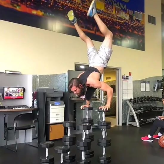 Handstands on Stacked Dumbbells Video