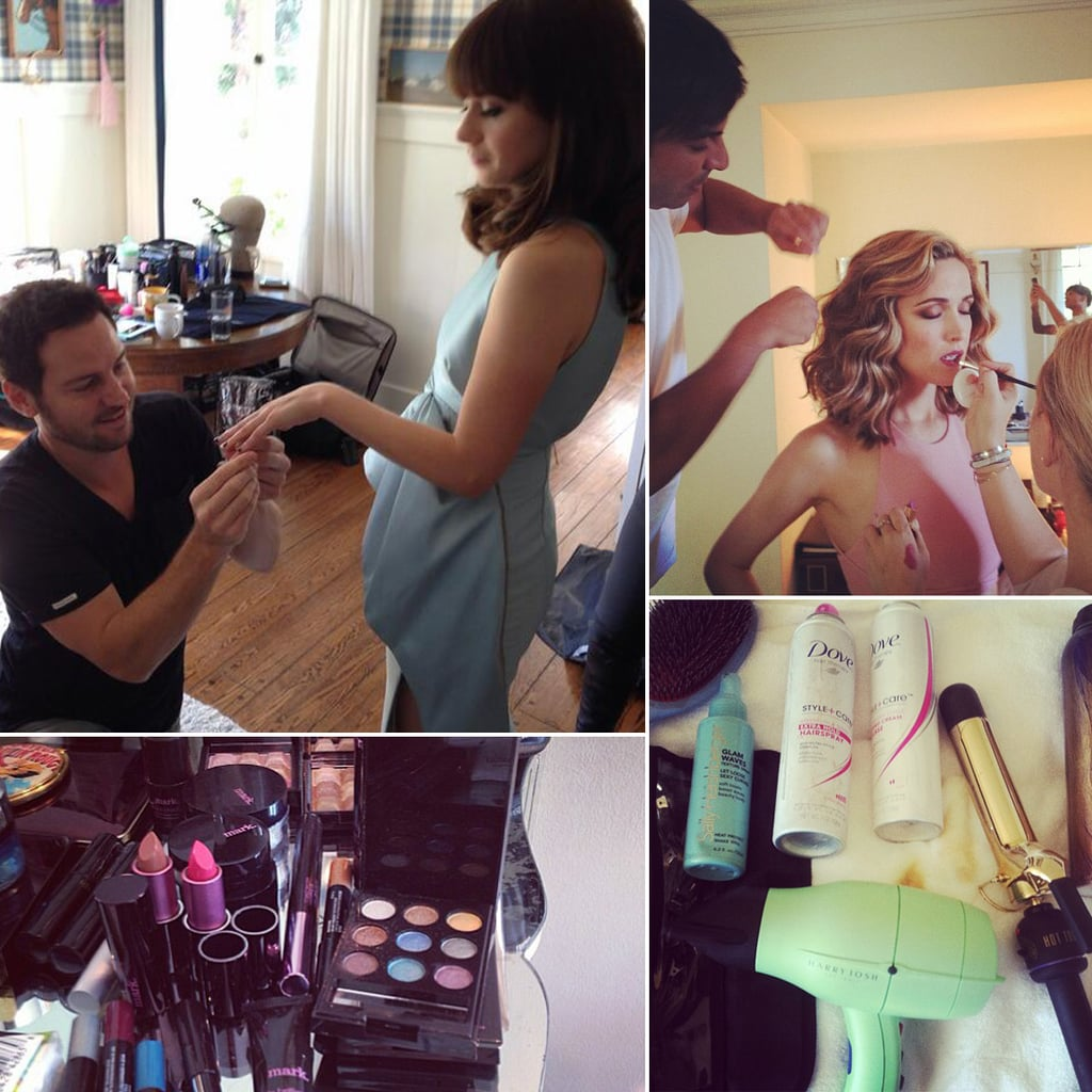 See How Your Favorite Stars Got Ready For the Emmys