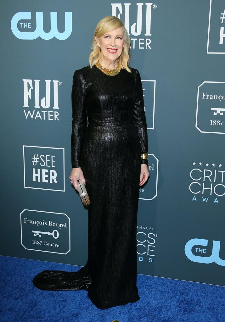 Catherine O'Hara at the 2020 Critics' Choice Awards