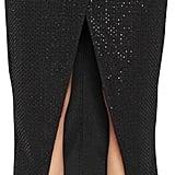 Self-Portrait Beaded Sequin Jersey Envelope Skirt