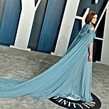 Zoey Deutch at the Vanity Fair Oscars Afterparty 2020