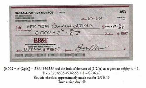 This Is How I'm Going to Start Signing My Checks