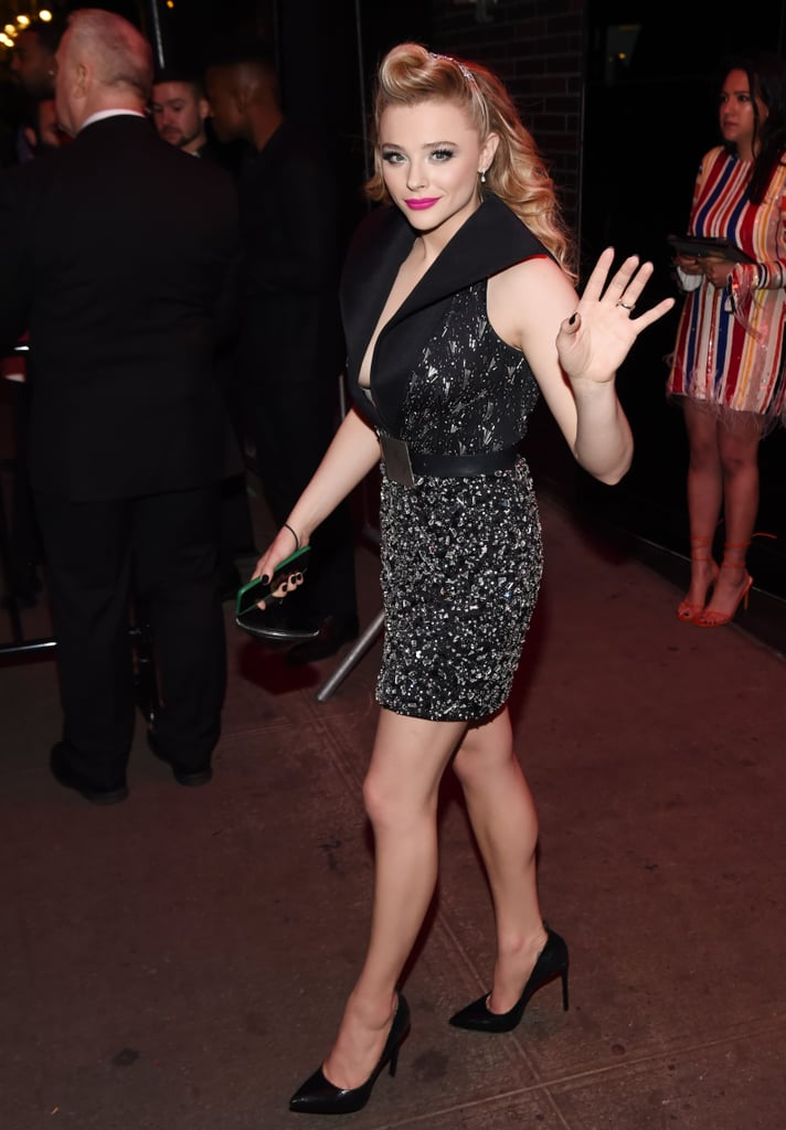 Chloë Grace Moretz at the Met Gala Afterparty