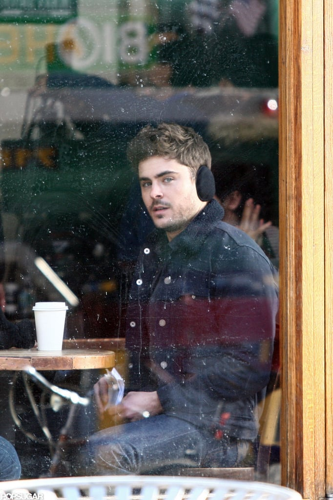 Zac Efron filmed for Are We Officially Dating? in NYC.