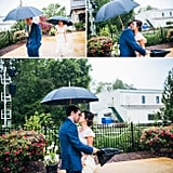 10 Pictures That Prove Rain Makes Weddings More Romantic