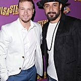 Brian Littrell and A.J. McLean Have a Mini BSB Reunion to Support Brian's Son on Broadway