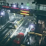 InFAMOUS: Second Son is an apocalyptic vision of a government whose reach has gone too far. The governing Big Brother is called D.U.P. and has have eyes and ears in every corner.  Source: Kotaku