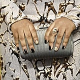 2020 Nail Art Trend: Cracked Gold Leaf