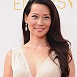 Lucy Liu in Lorraine Schwartz Jewelry
