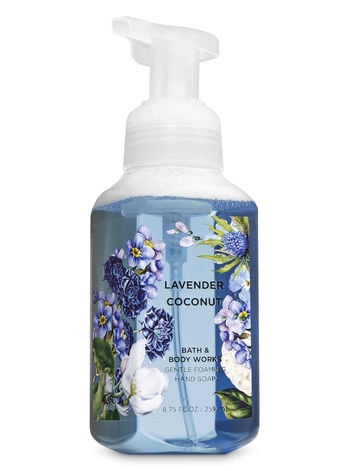 Bath & Body Works Lavender Coconut Gentle Foaming Hand Soap