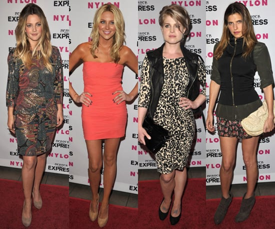 Who is the best dressed at Nylon Denim Party in Hollywood