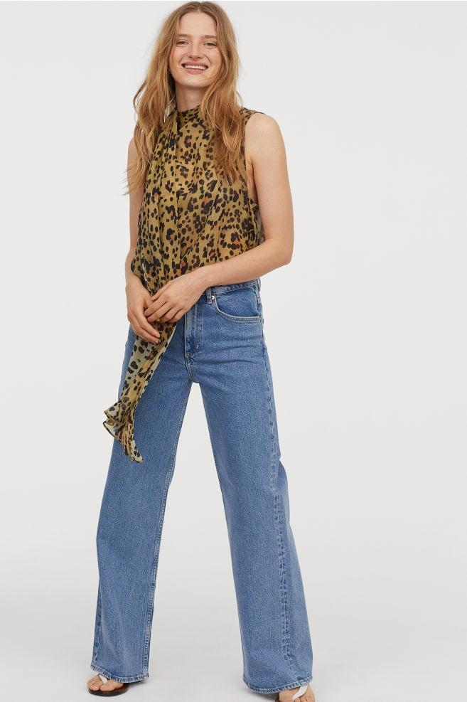 H&M Wide Regular Jeans