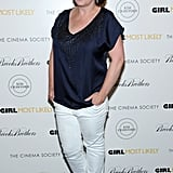 Rachel Dratch wore white pants on the black carpet.