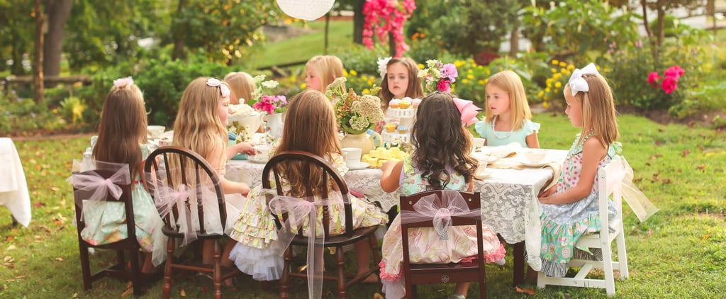 "This Secret Garden-Themed Soiree Gives ""Ladies Who Lunch"" a Whole New Meaning"