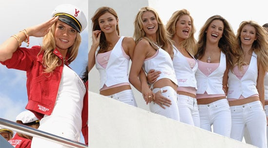 Photos of Heidi Klum, Alessandro Ambrosio, Miranda Kerr, Adriana Lima, and Victoria's Secret Models in Miami Beach
