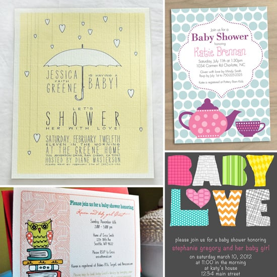 Shower Mama-to-Be: 10 Darling Baby Shower Invitations