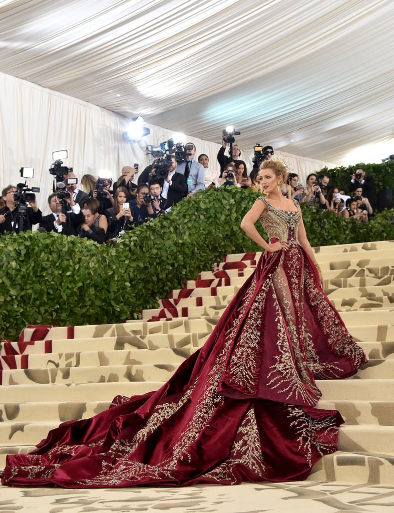 Image result for blake lively met gala 2018