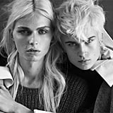 Later, Andrej Pejic got close with model Jana K. for Vogue Turkey.
