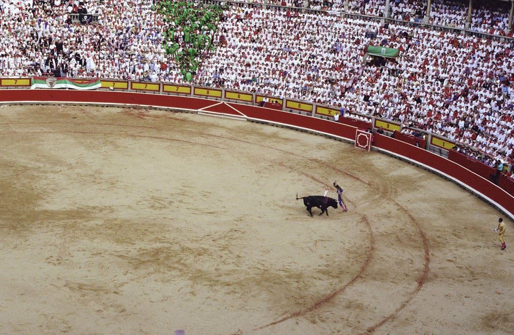 Attend the Running of the Bulls in Pamplona, Spain