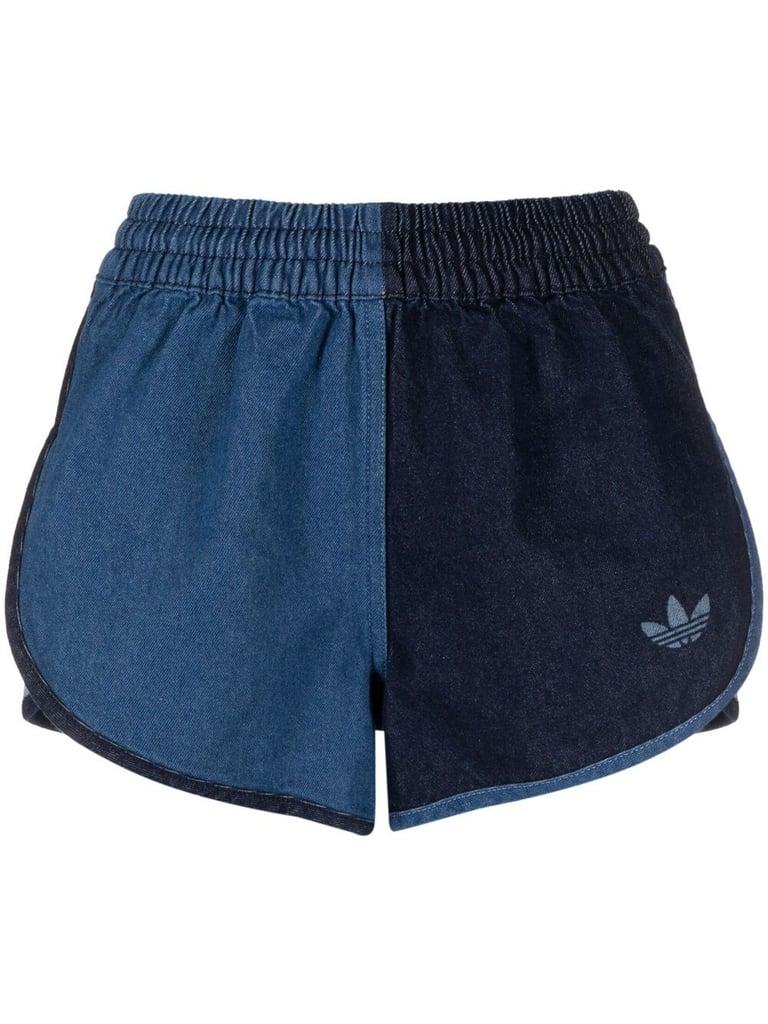 Adidas Two-Tone Denim Twill Shorts