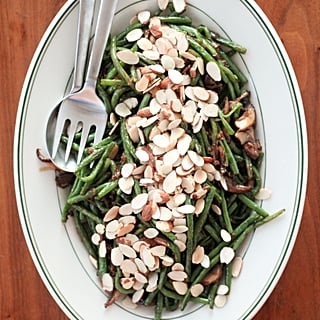 Blistered Green Beans With Mushrooms and Caramelized Onions