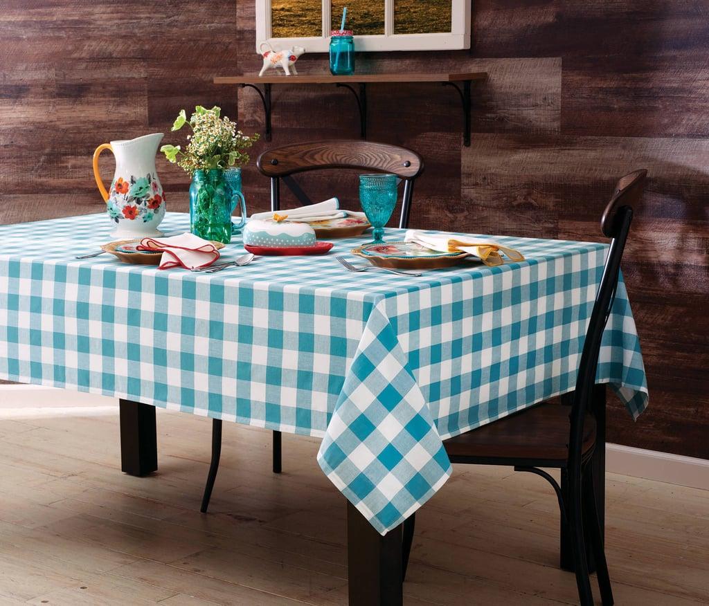 Charming Check Tablecloth