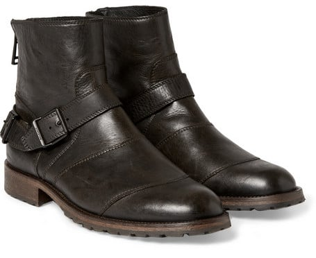 Belstaff Trialmaster Leather Boots (£420.00)