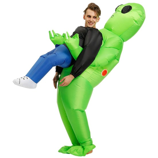 This Alien Abduction Halloween Costume Is Hilarious