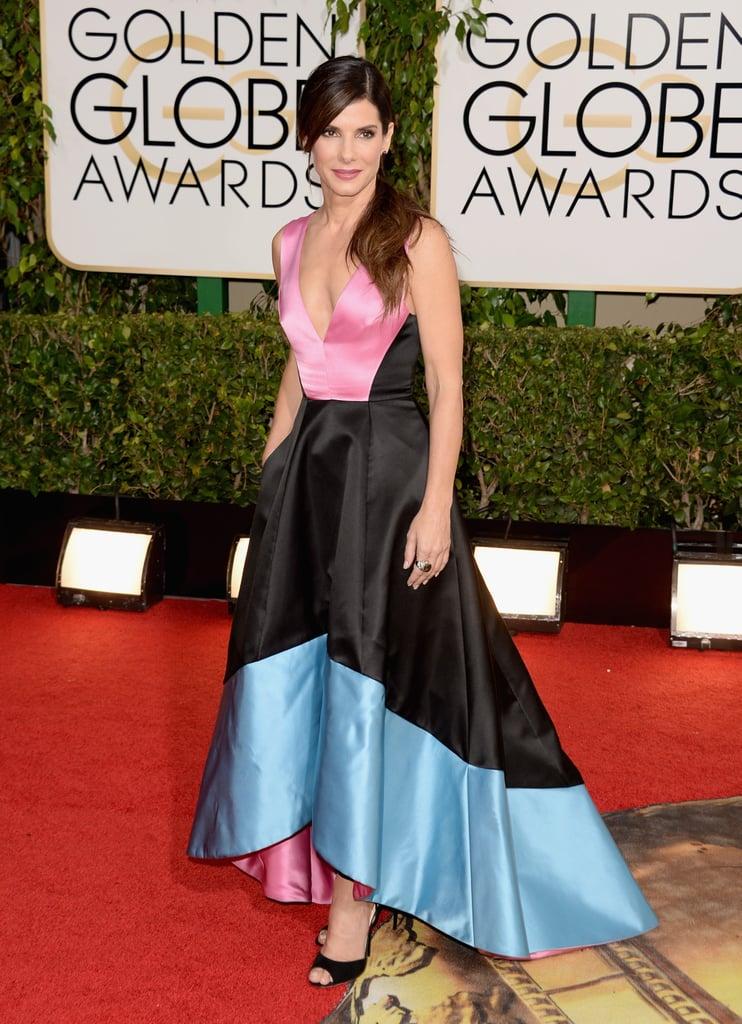 Sandra Bullock at the Golden Globes 2014