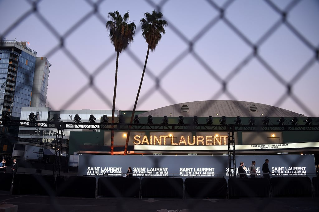 What Happened at the Saint Laurent Fall '16 Show