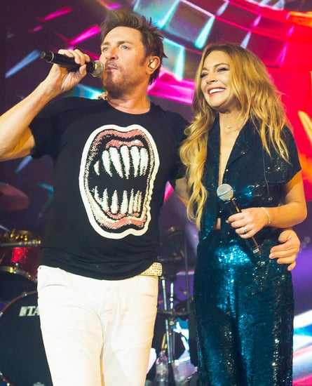 VIDEO: Lindsay Lohan Performs with Duran Duran in London!